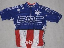 Cadel Evans Signé À La Main Cycling Jersey