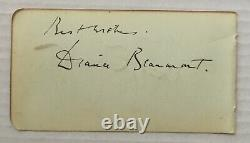 Cary Grant Signature Authentique Signée À La Main Sur La Page De L'album