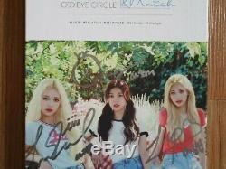 Cercle Loona Odd Eye MIX & Match Promo Album Autographié Signée À La Main