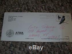 Charles Manson - Papier Et Enveloppe Autographiés Et Signés À La Main Avec Todd Mueller, Coa