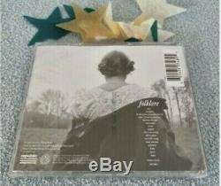 Dans La Main Neuf Taylor Swift Folklore CD Autographié Limited Ont Signé