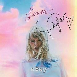 Dans La Main Rare Taylor Swift Autographié Signé Livret + Amant Me CD Single Avec Coa