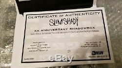 Dans La Main Vendu Eminem Autographié Sslp20 Film Strip Shadowbox Le # 54/99, Signés