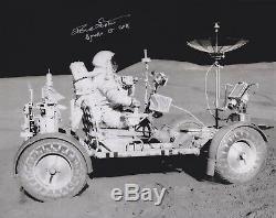 Dave Scott Apollo 15 Moon Walker - Conduisant En Eva Signé 8x10 Photo Nasa W-coa