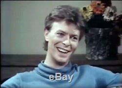 David Bowie Signée 1980 Couverture D'album Effrayant Monsters Main Autographe