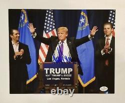 Donald Trump Hand Signé 8×10 Autographe Photo Est Livré Avec Coa