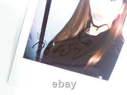 Doyeon (de Wiki Meki) Main Autographiée Polaroid