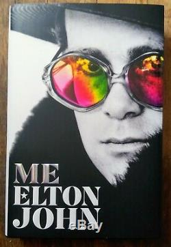 Elton John Autographié Signée À La Main Moi Livre Relié First Edition 2019