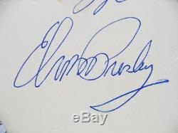 Elvis Presley Véritable Autographe Signé À La Main Las Vegas Hilton Février 1972 Coa