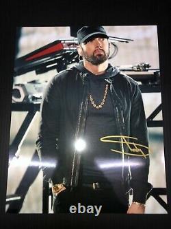 Eminem Authentique Signé À La Main Autographe 10x8 Photo Avec Coa