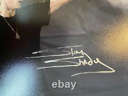 Eminem Autographié Photo 8 X 10 Avec Coa Signé À La Main Slim Shady