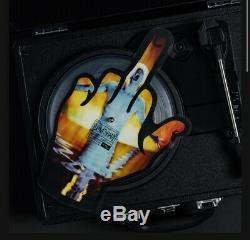 Eminem Middle Finger Sslp20 Die Cut Autographié Vinyle Jdgaf / Sdgaf En Main