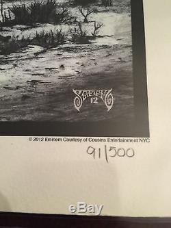 Eminem, Signé Shady, Autographié, Litho, Signé À La Main, Psa # Ac04888 Limité À 500