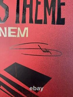 Eminem Signed Book Alfred Theme Lyrics Autographed Limited X/99 Copies En Main