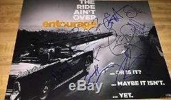 Entourage The Movie Distribution Principale 14 Coa Autographiée Au Total 11x14 Photo Signée À La Main