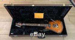 Ernie Ball Music Man John Petrucci Signé / Autographé Jp6 Bfr Tobacco Burst