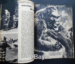 Famous Monstres De Filmland # 1 Main Tres Rare Autographié Par Forrest Ackerman