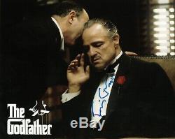 Francis Ford Coppola Autograph Signée À La Main Photo Oscar Le Parrain Cinéma