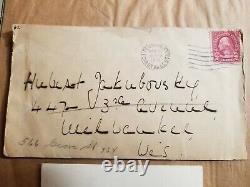 Helen Keller 1931 Lettre Écrite À La Main Et Signée + Enveloppe Originale
