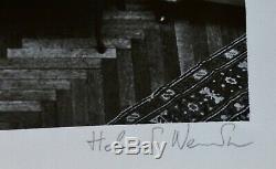 Helmut Newton Areangnes 1975 Main Signe Autographié Nude Lithographie Photo