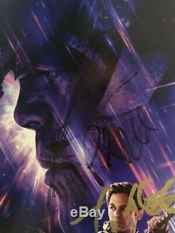 Impression Originale Signée Par Avengers Endgame Cast! 16x20 Autographe Signé À La Main