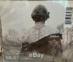 In-hand Taylor Swift Signé Folklore CD Rare, Autographié Record Store Day