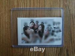 Itzy Diffusion Prix De L'événement Réel Polaroid Autographié Signée À La Main Groupe_message_queuing