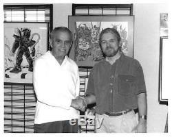 Jack Kirby Signé À La Main Autographié Libris 1992 Art De Jack Kirby