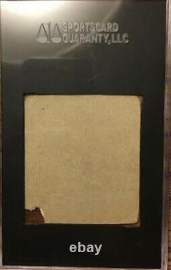 Jackie Robinson 1948 R346 Bleu Tinte #36 Coupe À La Main Carte Rookie Authentique Sgc