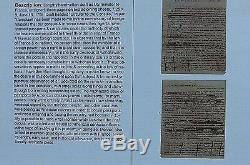 James Monroe 3 Pages Brouillon Manuscrit Entièrement À La Main Non Signé 9-6-1795