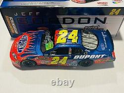 Jeff Gordon Hand Signé 2006 Dupont Sonoma Race Win Nascar 1/24 Diecast Car