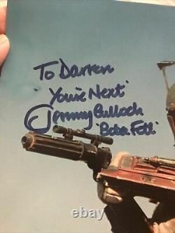 Jeremy Bulloch Star Wars Autographe Main Signée Photo Célébration