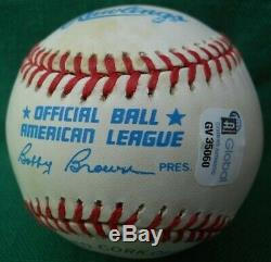Joe Dimaggio Main Signe Mlb Baseball Autograph Coa / Gai