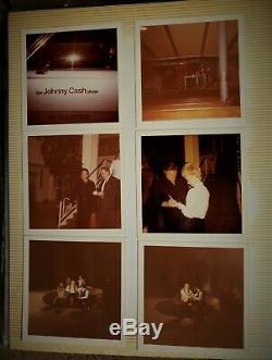 Johnny Cash, Burl Ives, Shel Silverstein & Roy Acuff Signée À La Main Autographes +++