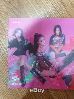 Jyp Itzy Promo Album Message Autographié Et Signé À La Main