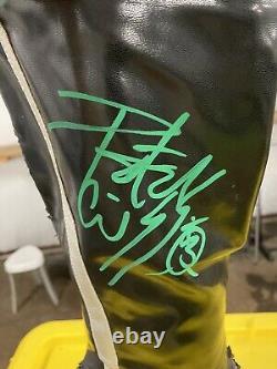 Kiss Peter Criss Catman Autographed Boot Hand Signé