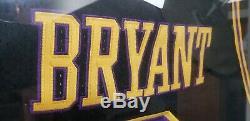 Kobe Bryant Black Mamba Jersey # 8 Signée À La Main Autographié Coa / W Hologram