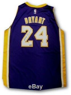 Kobe Bryant Signée À La Main Autographié Swingman Jersey Violet La Lakers Panini Pa