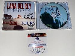 Lana Del Rey Honeymoon CD & Cover 2x Twice Hand Signed Autograph Coa Gai