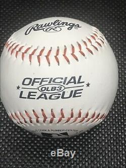 Le Président Barack Obama Signée À La Main Autographed Baseball Potus Coa Lia