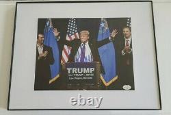 Le Président Donald Trump Hand Signé 8x10 Photo Autograph Aveccoa