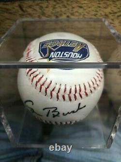 Le Président George W. Bush Signé À La Main Autographed Baseball (houston Astros)