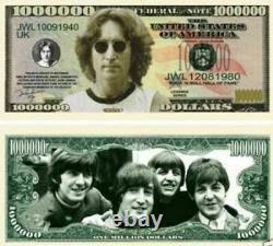 Les Beatles / John Lennon Véritable Signé À La Main Par Paul Mccartney