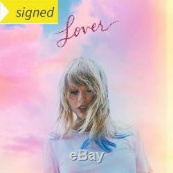 Livret De CD Lover, Autographe, Signé Par Taylor Swift, Rouge, 1989