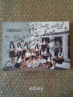 Loona ++ Album MIMI Promo Autographié Message Signé À La Main