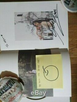Loona Fan Signe Événement 1/3 Amour & Evil Album Autographié Signée À La Main
