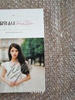 Loona Heejin Promo Album Autographié Signé À La Main