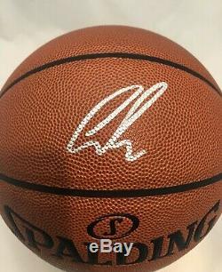 Luka Doncic Autographié Signée À La Main Basketball Psa Coa