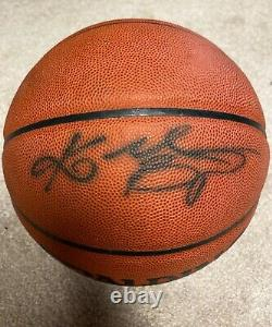 Main Signée Autographed Kobe Bryant Basketball Psa/dna La Lakers Hof Rare