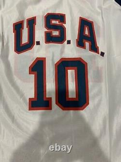 Mamba Kobe Bryant Autographed Team USA Olympic Jersey Hand Signed With Coa